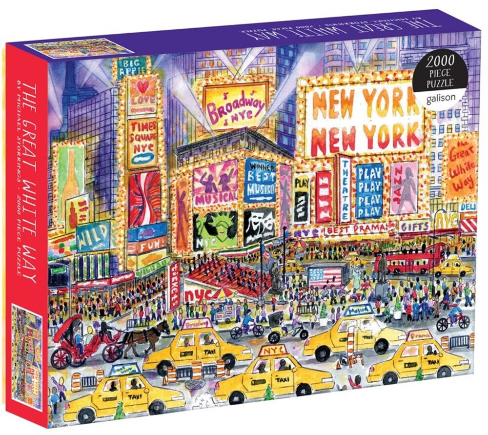 Storrings, Michael - Michael Storrings The Great White Way 2000 Piece Puzzle