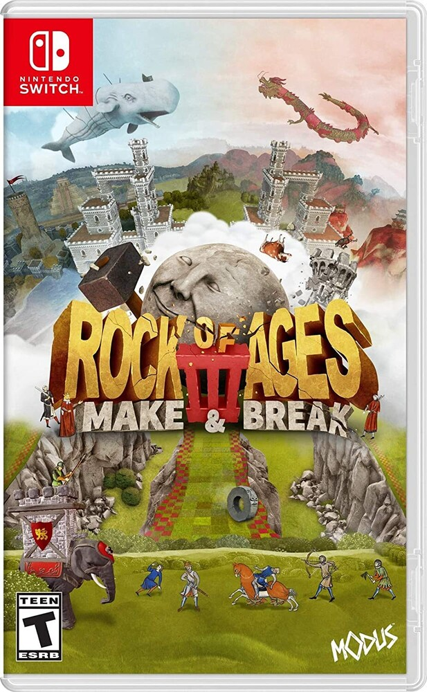 - Rock of Ages 3: Make & Break for Nintendo Switch