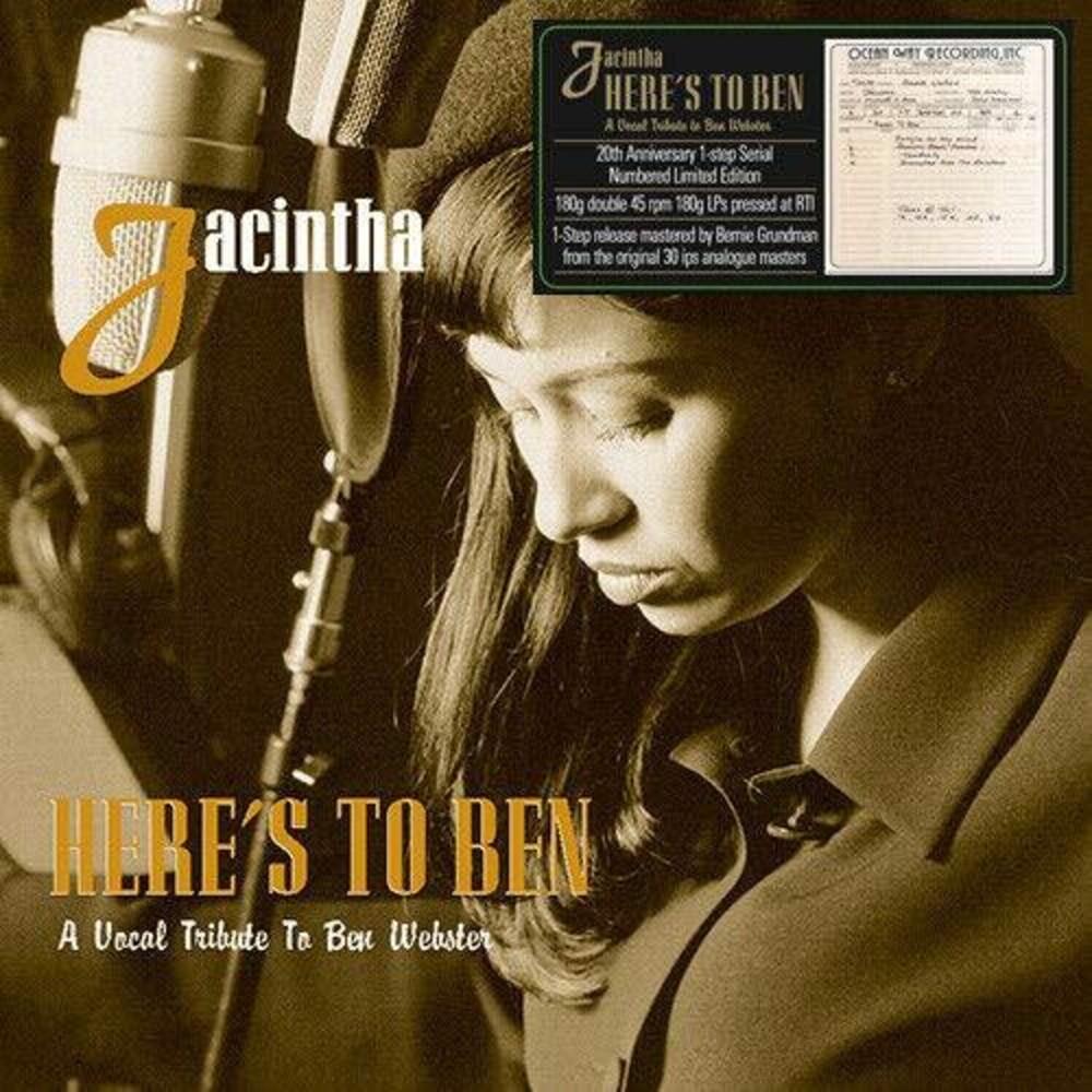 Jacintha - Here's To Ben (Frpm) [Limited Edition] [180 Gram] (Aniv)