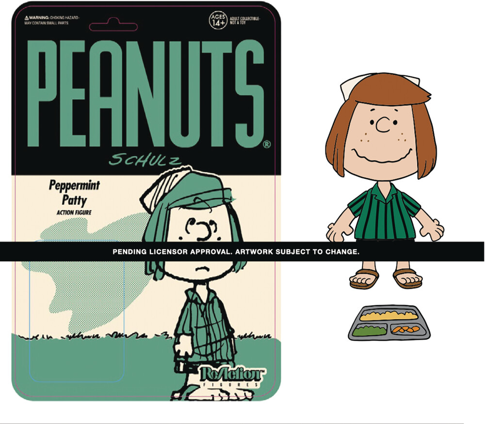 Peanuts Reaction Wave 3 - Camp Peppermint Patty - Peanuts ReAction Wave 3 - Camp Peppermint Patty