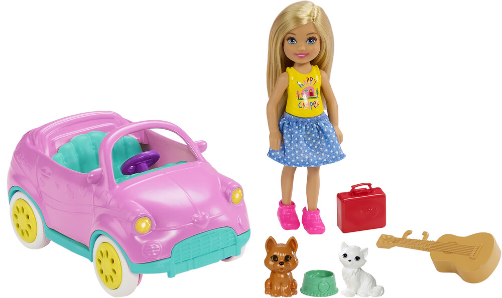 Barbie - Barbie Chelsea Driving Fun Doll