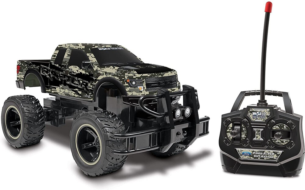 - Digital Camo 1:24 Ford F-150 SVT Raptor RC Truck