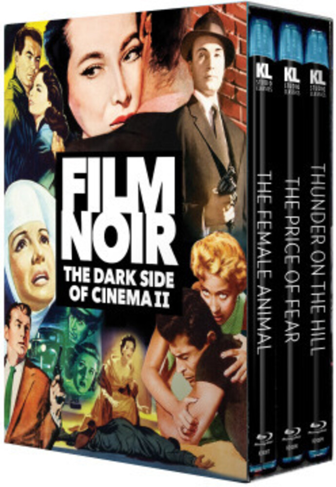 - Film Noir: Dark Side Of Cinema Ii (3pc) / (3pk)
