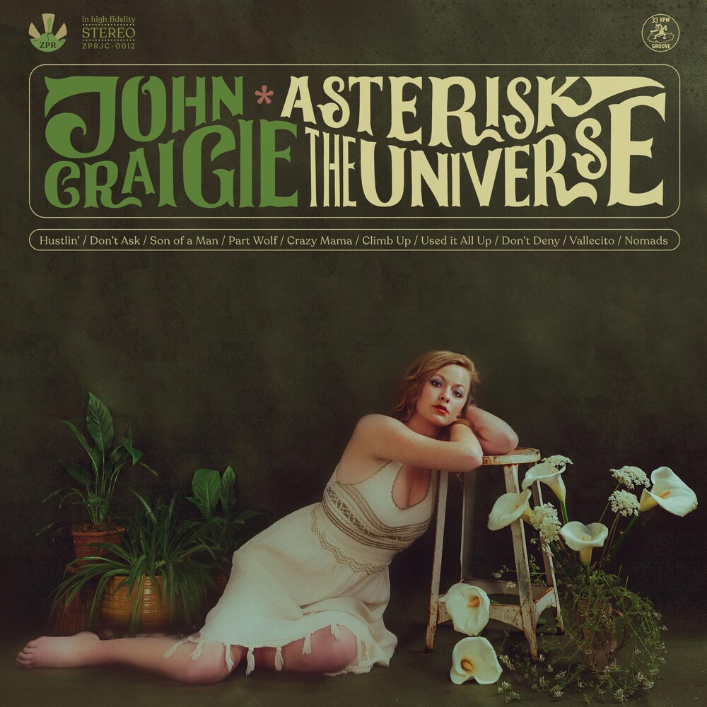 John Craigie - Asterisk the Universe [Indie Exclusive Limited Edition Opaque Green LP]