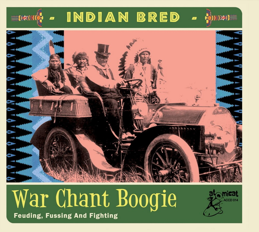 Indian Bred 3 War Chant Boogie / Various - Indian Bred 3 War Chant Boogie / Various