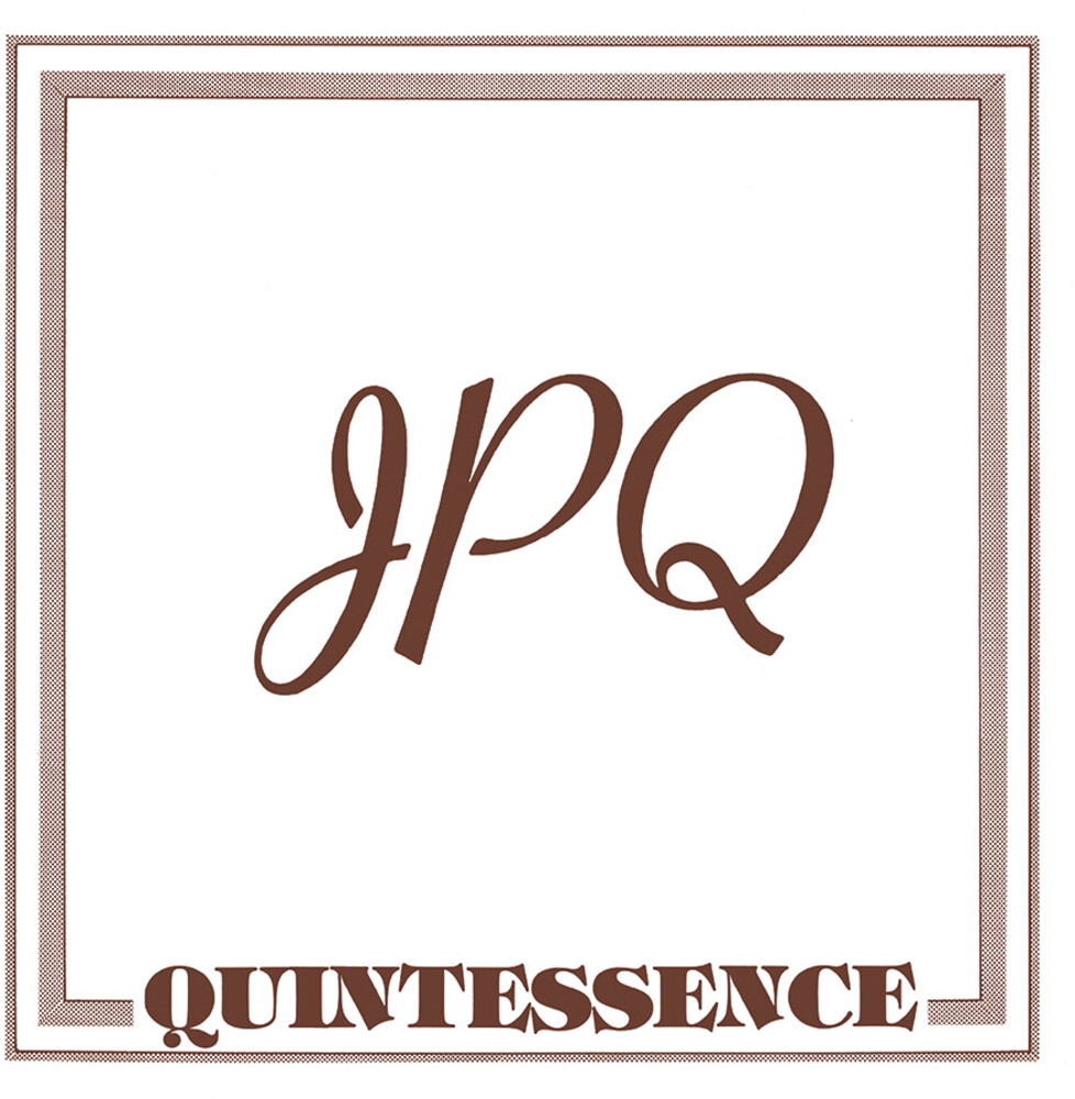 Jpq - Quintessence [Clear Vinyl] [Deluxe] [Limited Edition] [180 Gram] [Reissue]