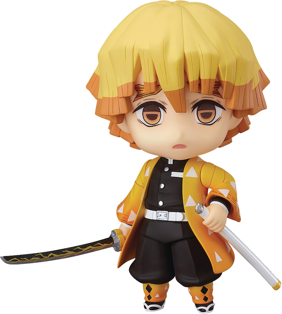 Good Smile Company - Good Smile Company - Demon Slayer Kimetsu No Yaiba - Zenitsu AgatsumaNendoroid Action Figure