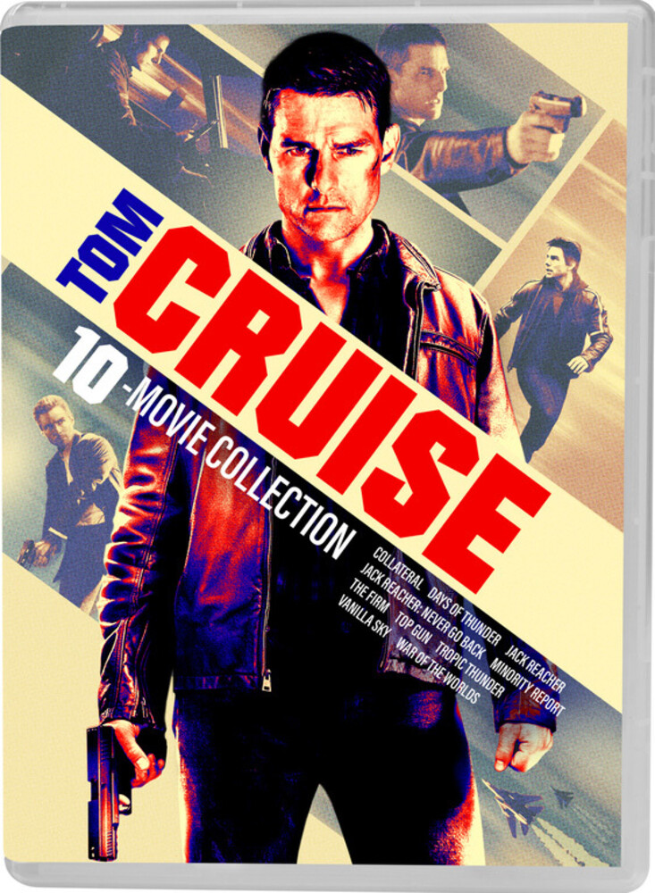 Tom Cruise 10-Movie Collection - Tom Cruise 10-Movie Collection (10pc) / (Box Ac3)