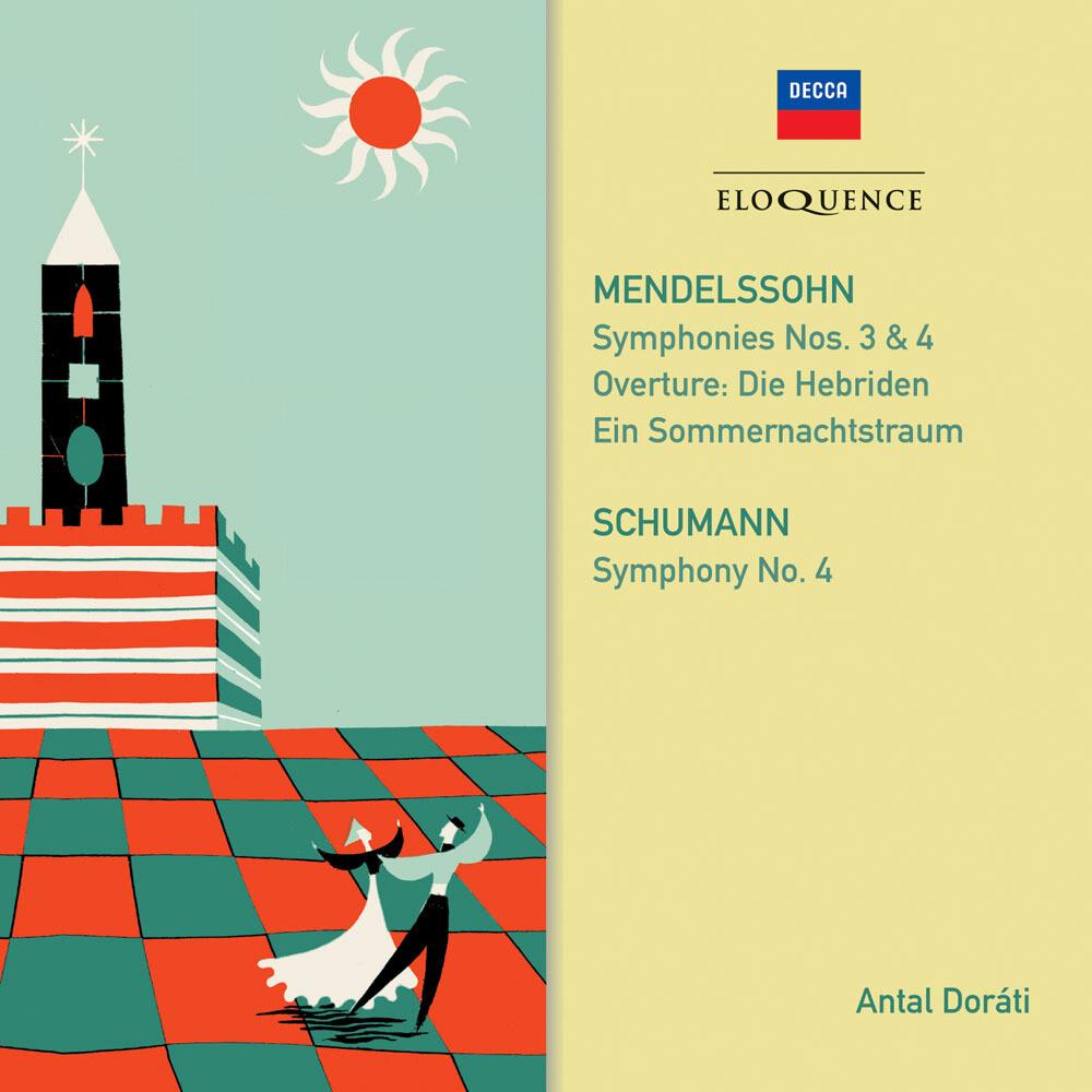 Mendelssohn / Schumann / Antal Dorati - Mendelssohn Schumann: Symphonies (Aus)
