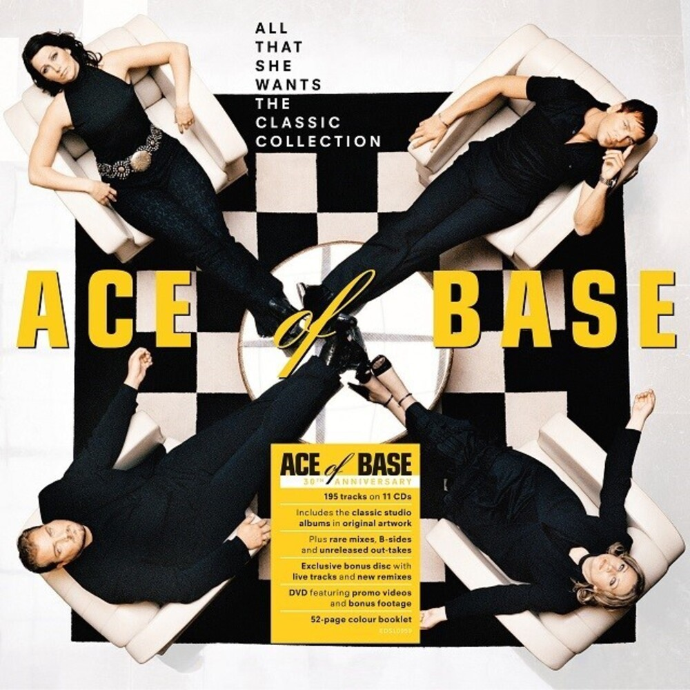 Ace Of Base - All That She Wants: The Classic Collection (Box)