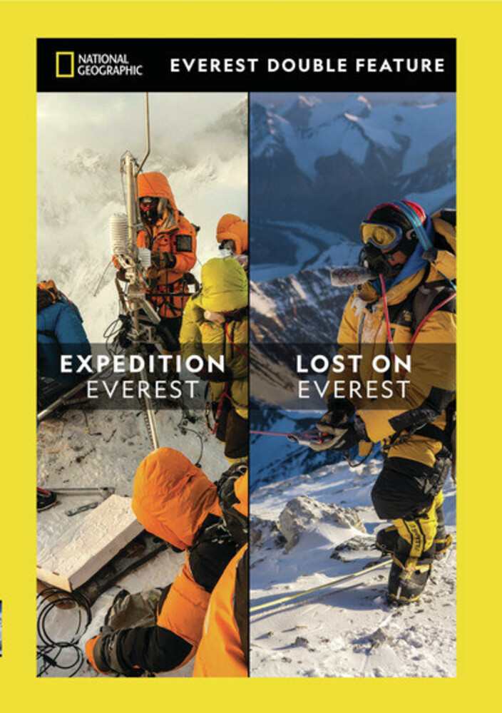 - Everest Double Feature: Lost On Everest And Expedition Everest