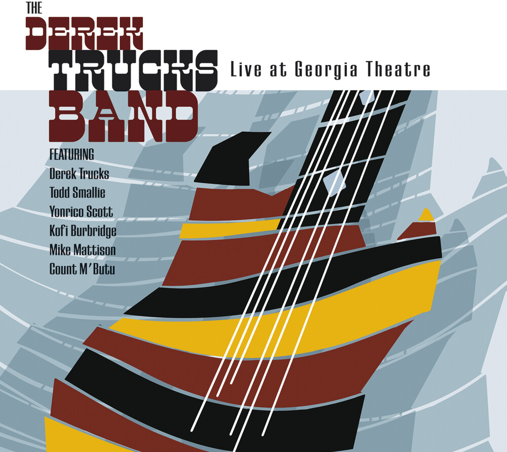 Derek Trucks Band - Live At Georgia Theatre (Hol)
