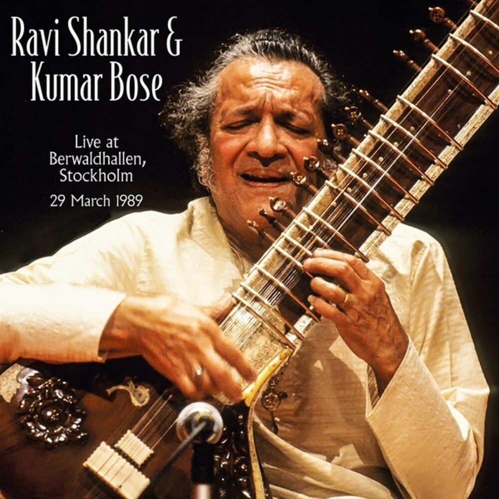Ravi Shankar & Bose,Kumar - Live At Berwaldhallen Stockholm 1989