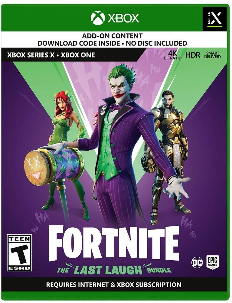 Xbx Fortnite: The Last Laugh Bundle - Fortnite: The Last Laugh Bundle for Xbox Series X and Xbox One