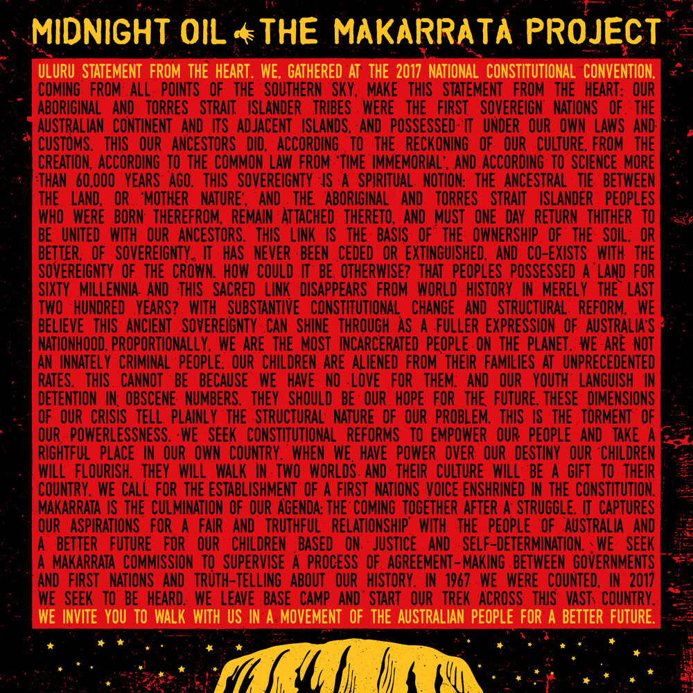 Midnight Oil - The Makarrata Project
