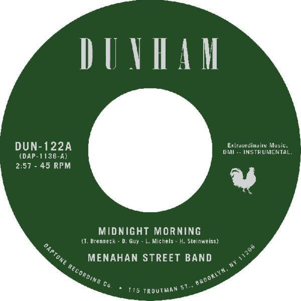 Menahan Street Band - Midnight Morning / Stepping Through Shadow
