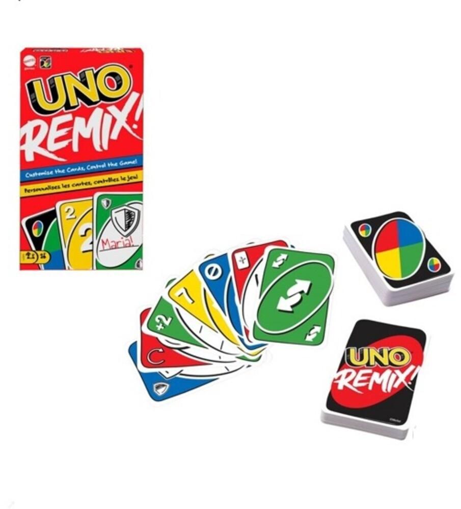 Uno - Mattel Games - UNO Remix