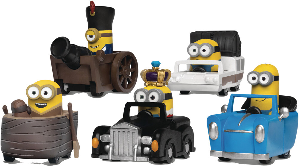 Beast Kingdom - Beast Kingdom - Despicable Me Pull Back Car Set