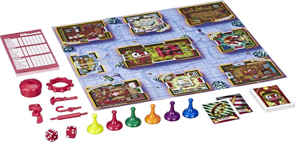 Clue North Pole Edition - Hasbro Gamming - Clue North Pole Edition