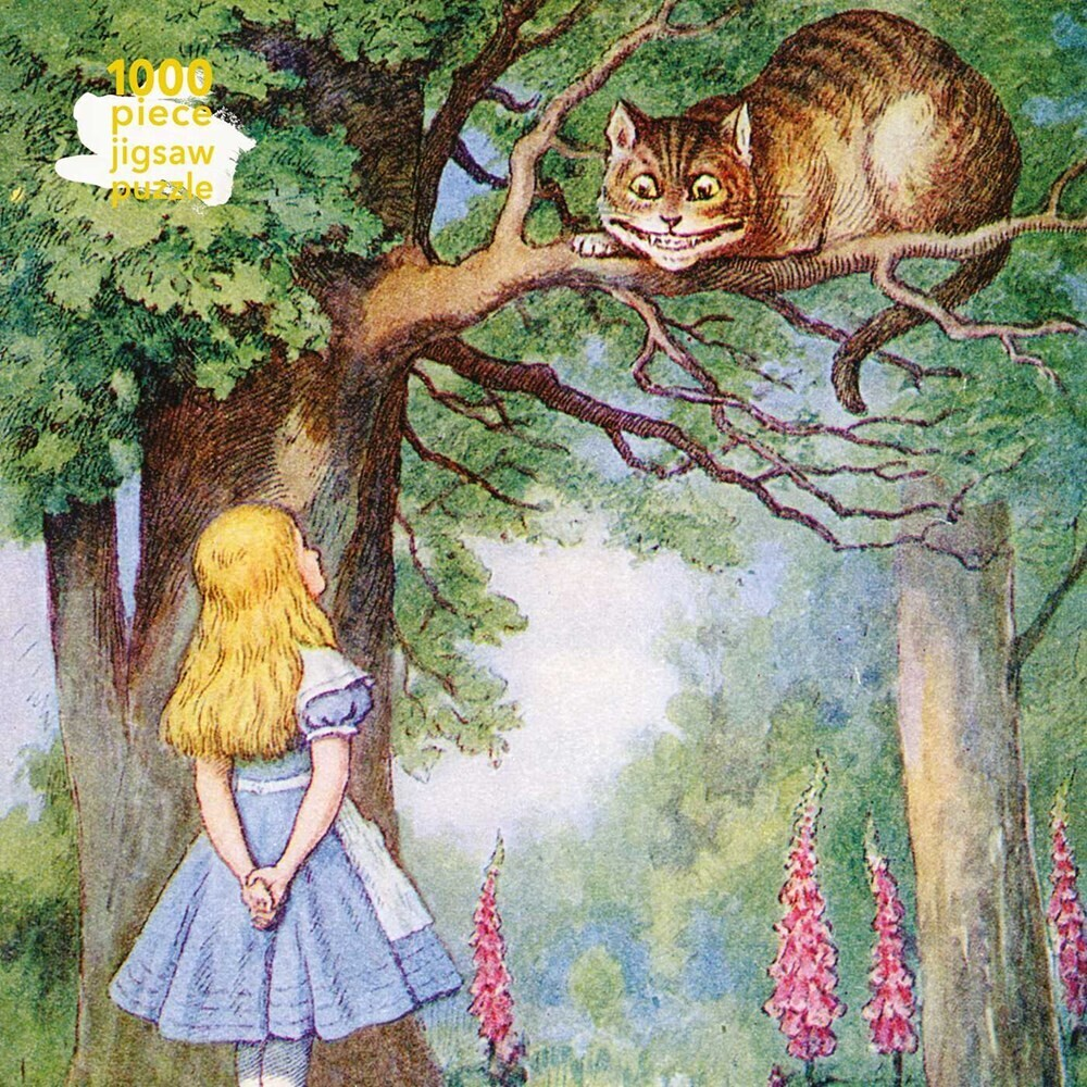 Flame Tree Studio - Alice And The Cheshire Cat 1000 Piece Jigsaw