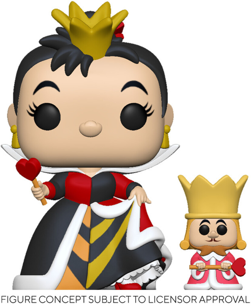 Funko Pop!&Buddy Disney: - FUNKO POP! & BUDDY DISNEY: Alice in Wonderland 70th - Queen w/King