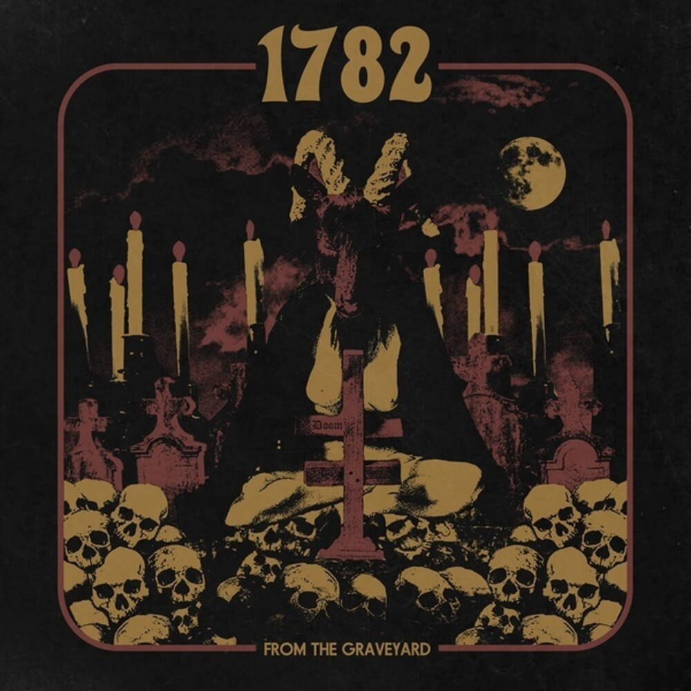 1782 - From The Graveyard (Blk) [Colored Vinyl] (Gold)
