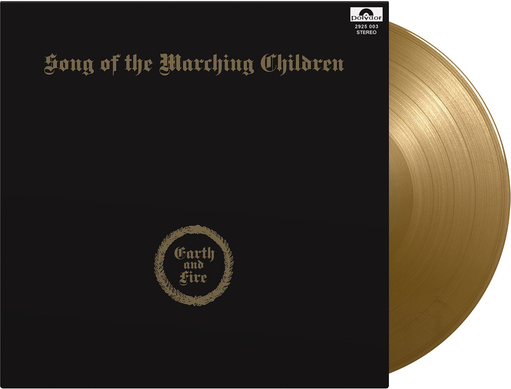 Earth & Fire - Song Of The Marching Children [Colored Vinyl] (Gate) (Gol)