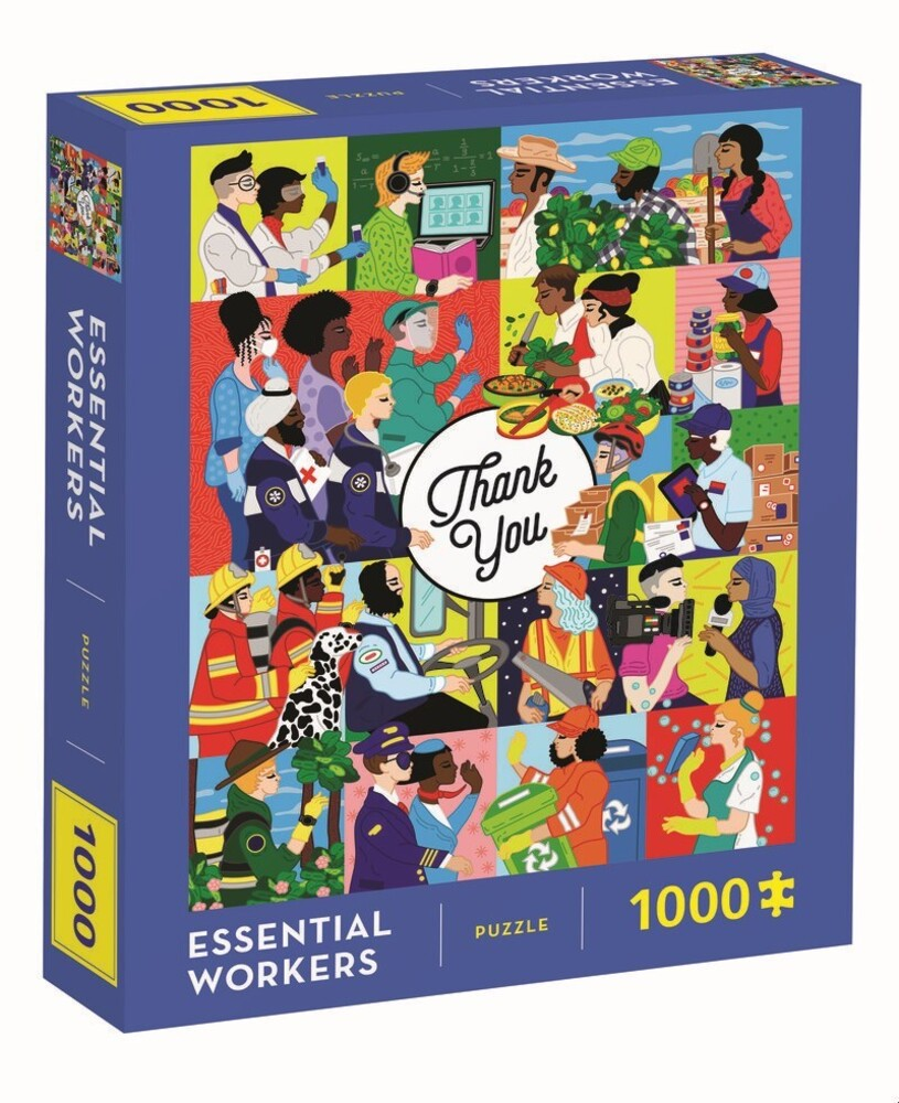 - Essential Workers 1000 Piece Puzzle