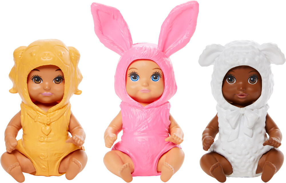 - Mattel - Barbie Costume Babies Assortment