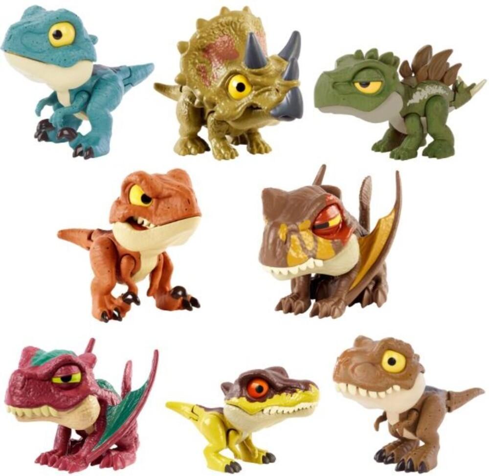Jurassic World - Mattel - Jurassic World Snap Squad Attitudes Assortment