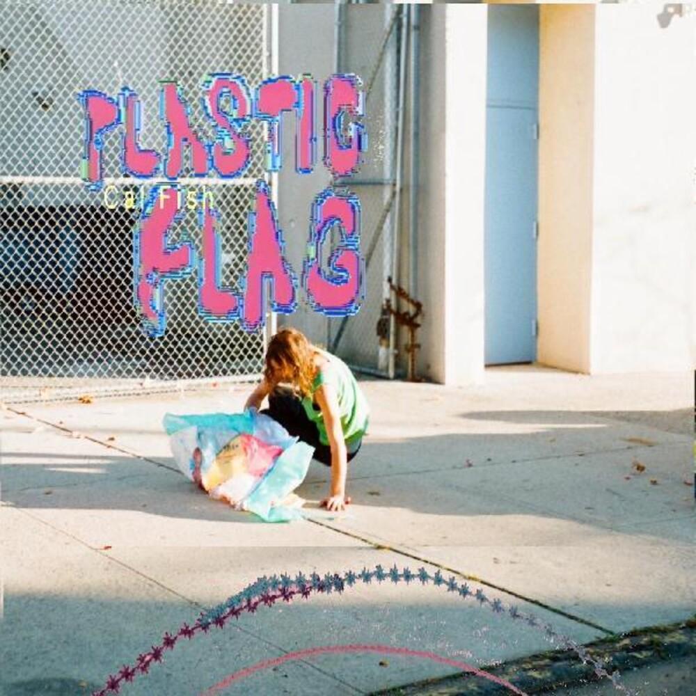 Cal Fish - Plastic Flag