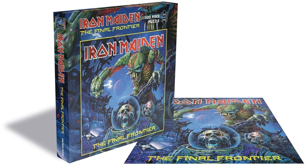 - Iron Maiden Final Frontier (500 Pc Jigsaw Puzzle)
