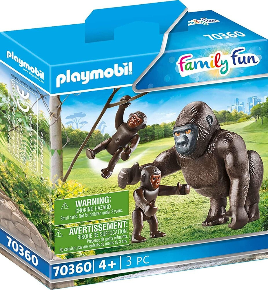 - Family Fun Gorilla With Babies (Fig)