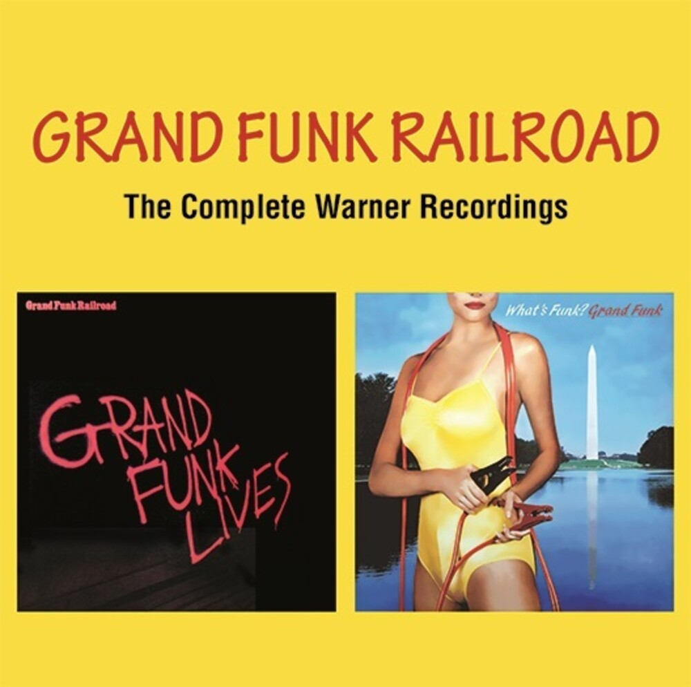 Grand Funk Railroad - Complete Warner Recordings