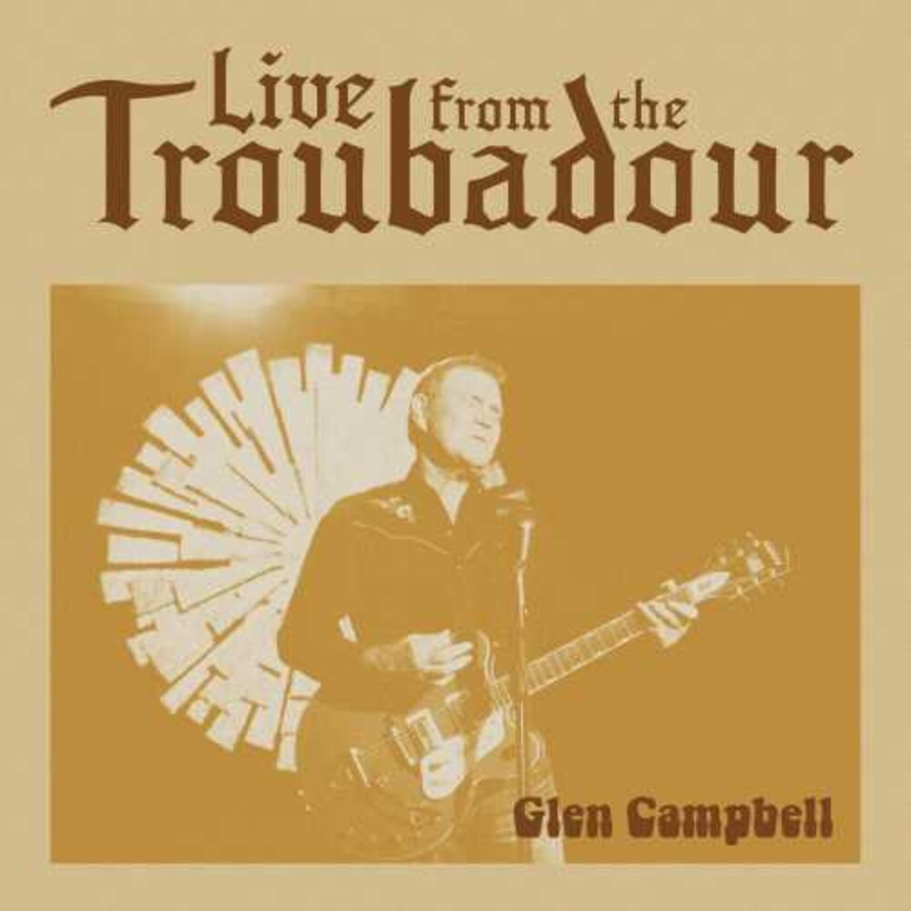 Glen Campbell - Live From The Troubadour [2 LP]
