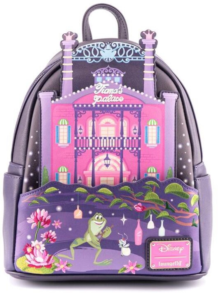 Loungefly Disney: - Princess And The Frog Tiana's Palace Mini Backpack