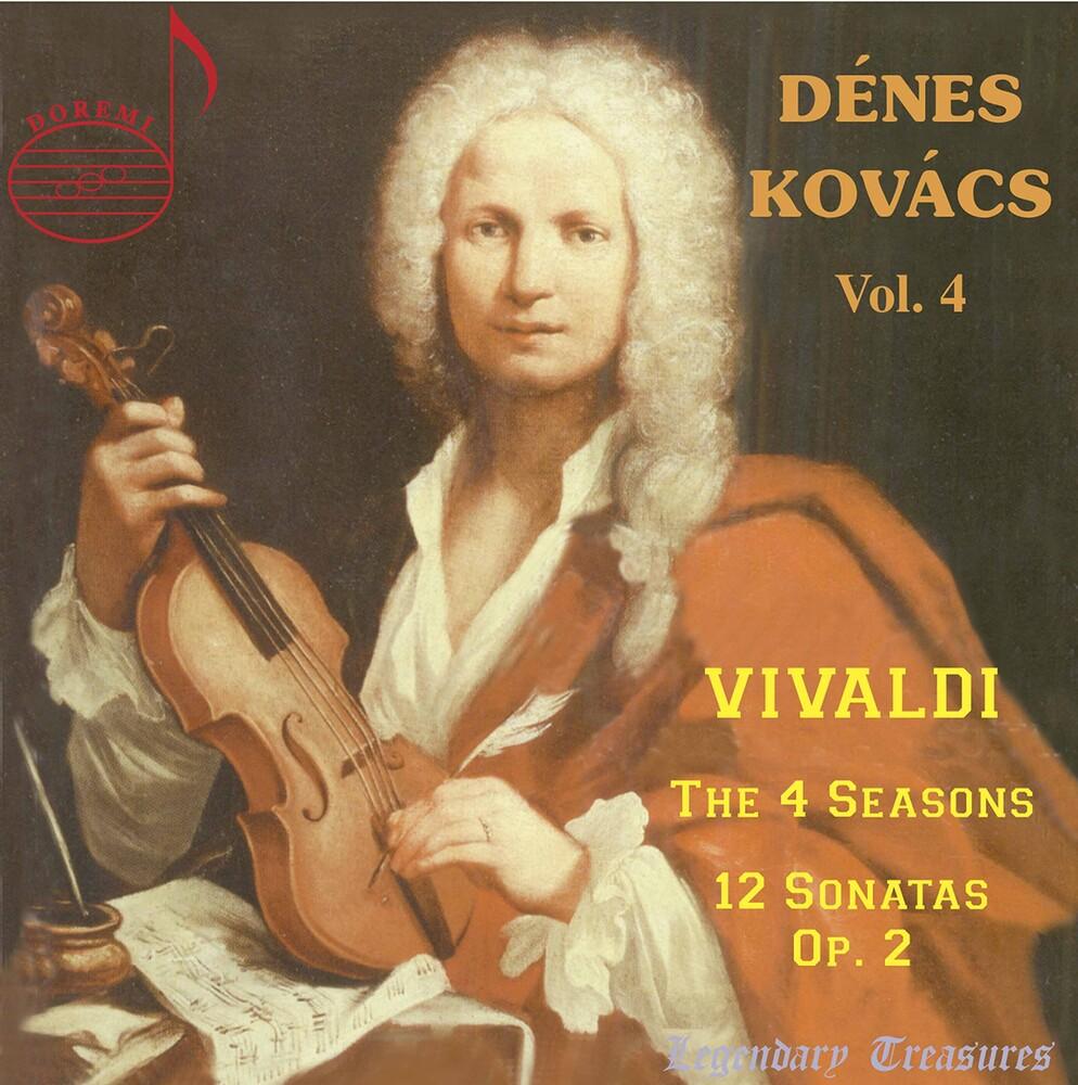 Vivaldi / Hungarian Radio Chamber - Denes Kovacs 4 (2pk)