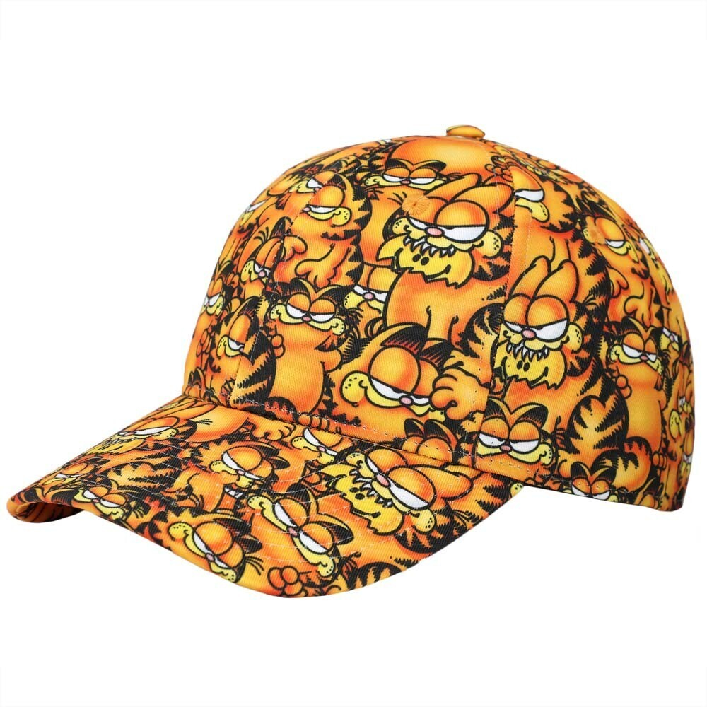 - Garfield Airbrushed Character Aop Sb Baseball Cap