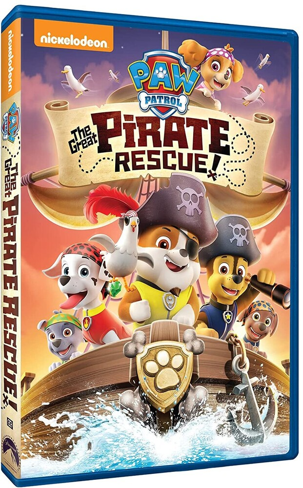 - Paw Patrol: The Great Pirate Rescue!