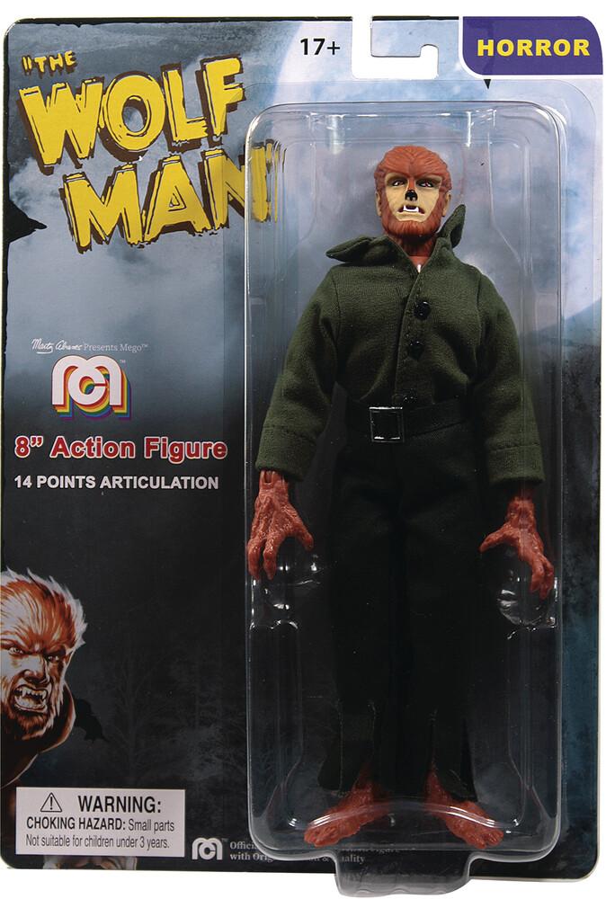 - Mego Horror Wolfman 8in Af (Afig) (Clcb)