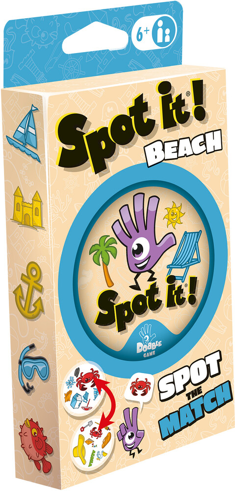 - Spot It! Beach Match Waterproof (Crdg)