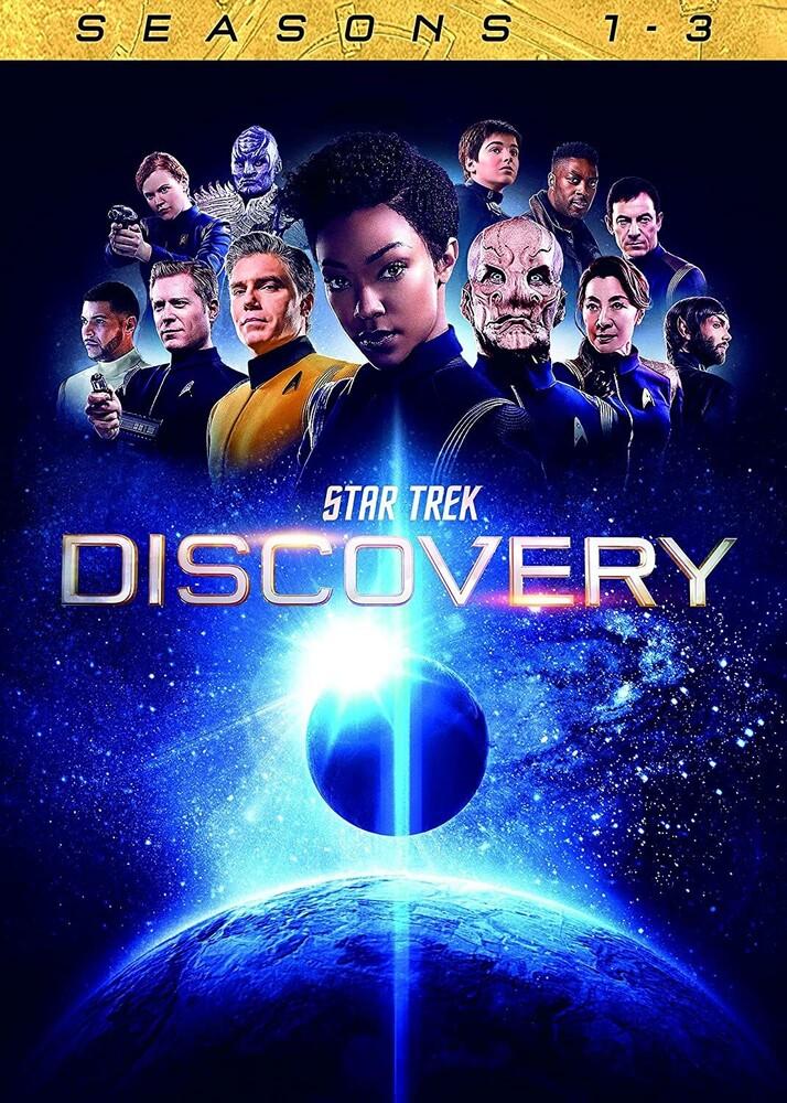 Star Trek: Discovery - Seasons 1-3 - Star Trek: Discovery - Seasons 1-3 (12pc) / (Box)