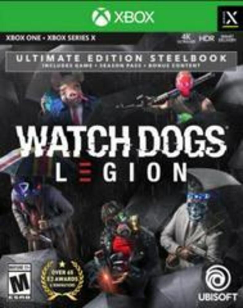 Xb1/Xbx Watch Dogs Legion Ult Stl - XB1/XBX Watch Dogs Legion Ult STL
