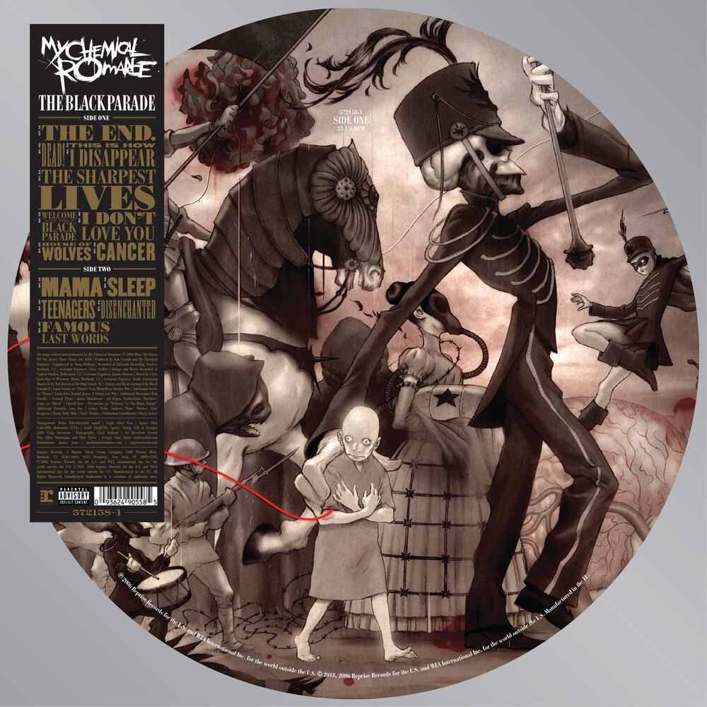 My Chemical Romance - The Black Parade [Picture Disc LP]