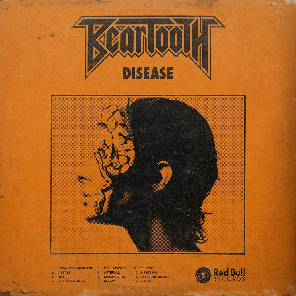 Beartooth - Disease [Indie Exclusive Limited Edition Orange LP]