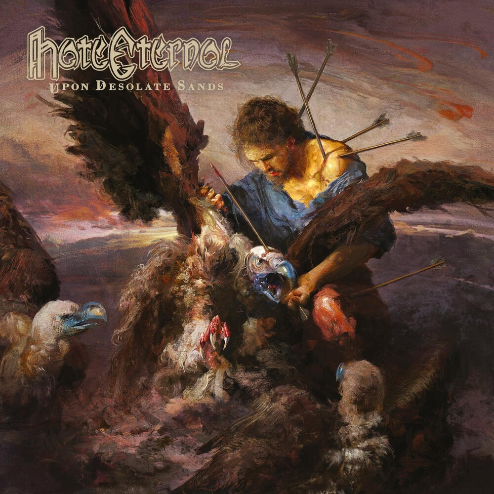 Hate Eternal - Upon Desolate Sands [Limited Edition Clear LP]