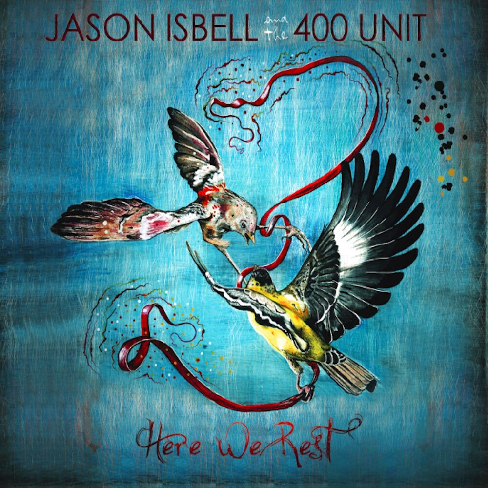 Jason Isbell And The 400 Unit - Here We Rest [Indie Exclusive Limited Edition Translucent Blue LP]