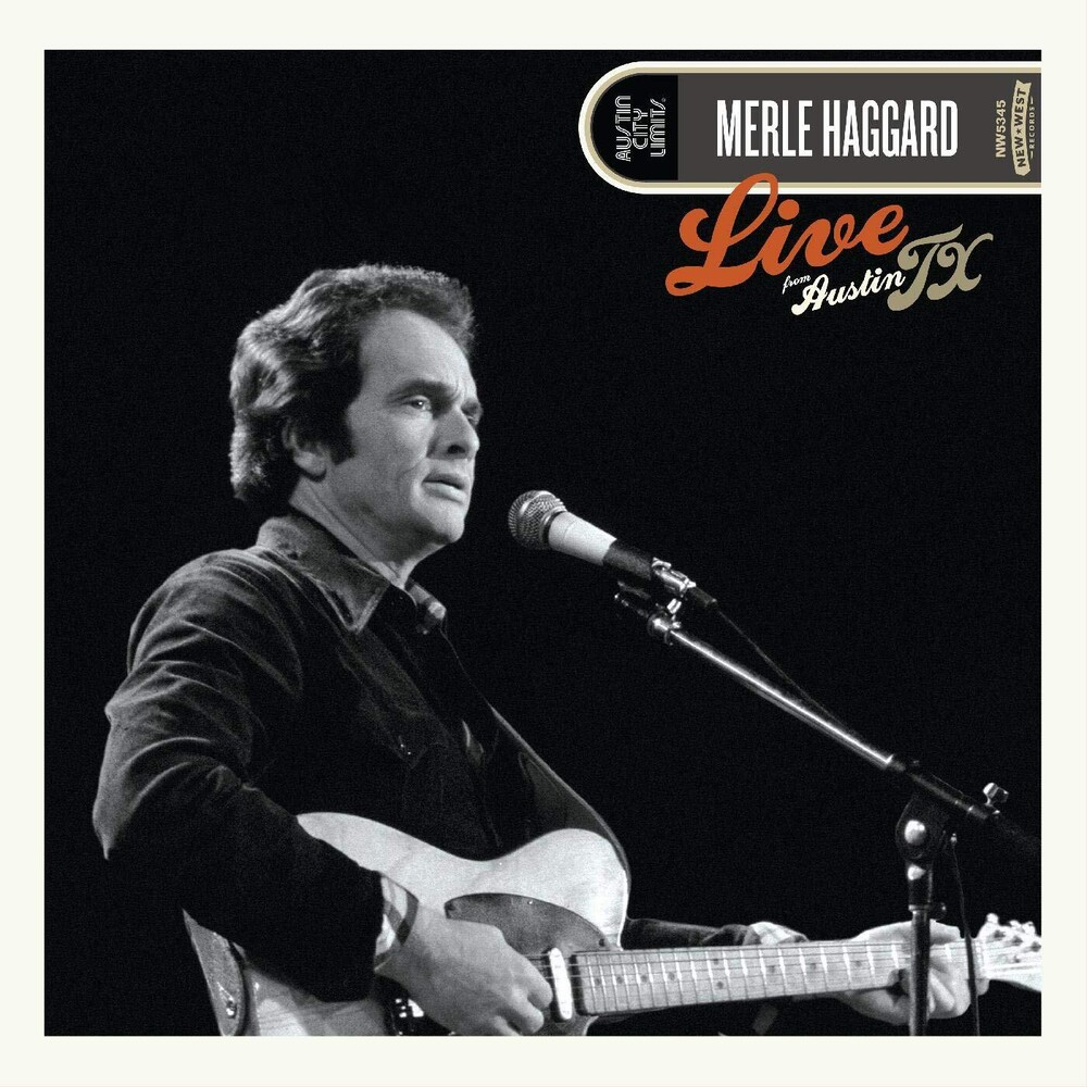 Merle Haggard - Live From Austin, TX '78 [LP]