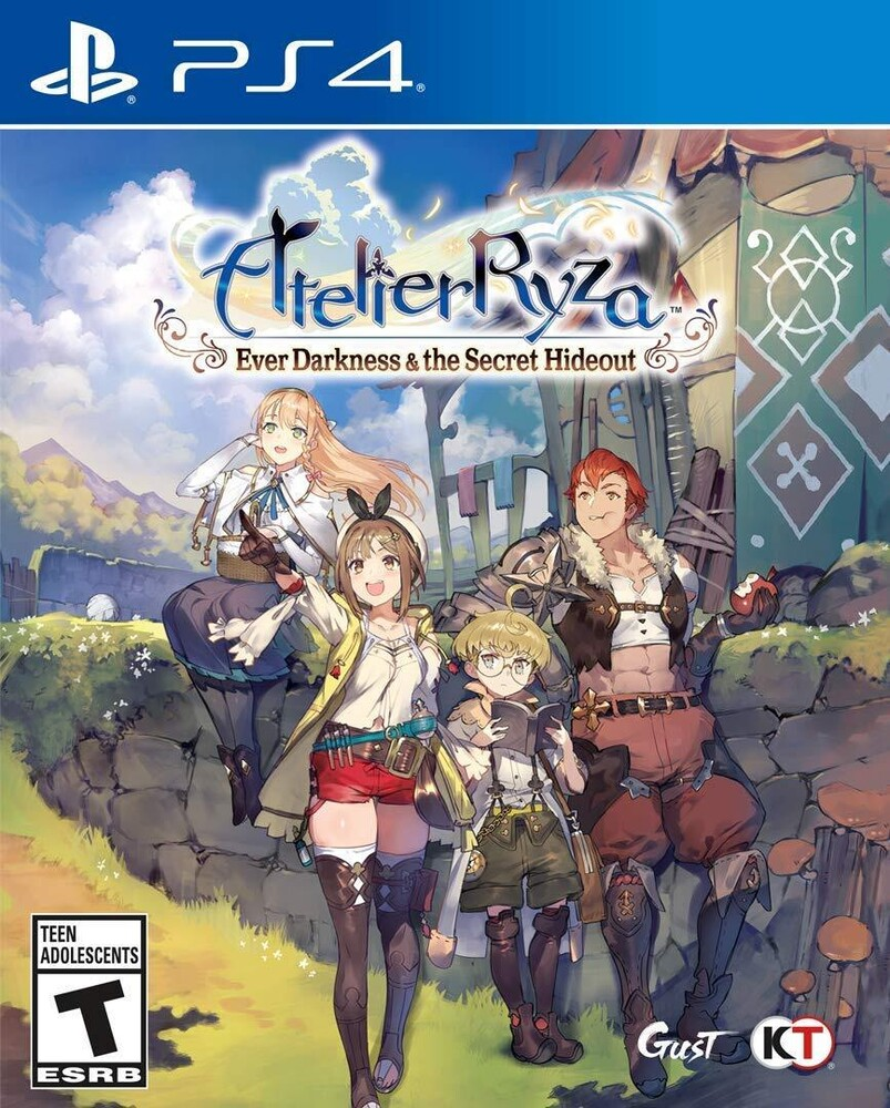 Ps4 Atelier Ryza: Ever Darkness & Secret Hideout - Atelier Ryza: Ever Darkness & The Secret Hideout for PlayStation 4