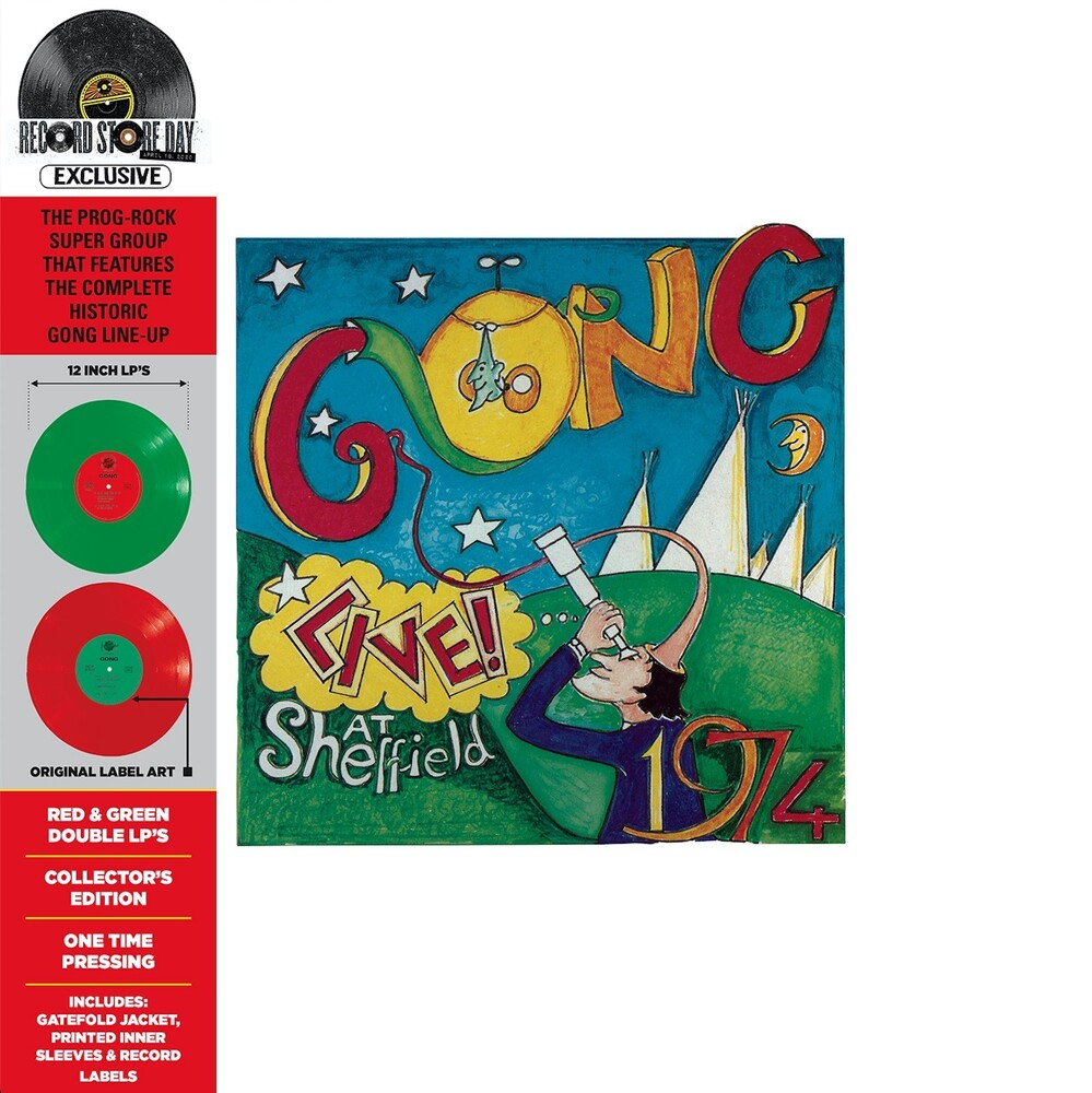 Gong - Live! At Sheffield 1974 [RSD Drops Aug 2020]